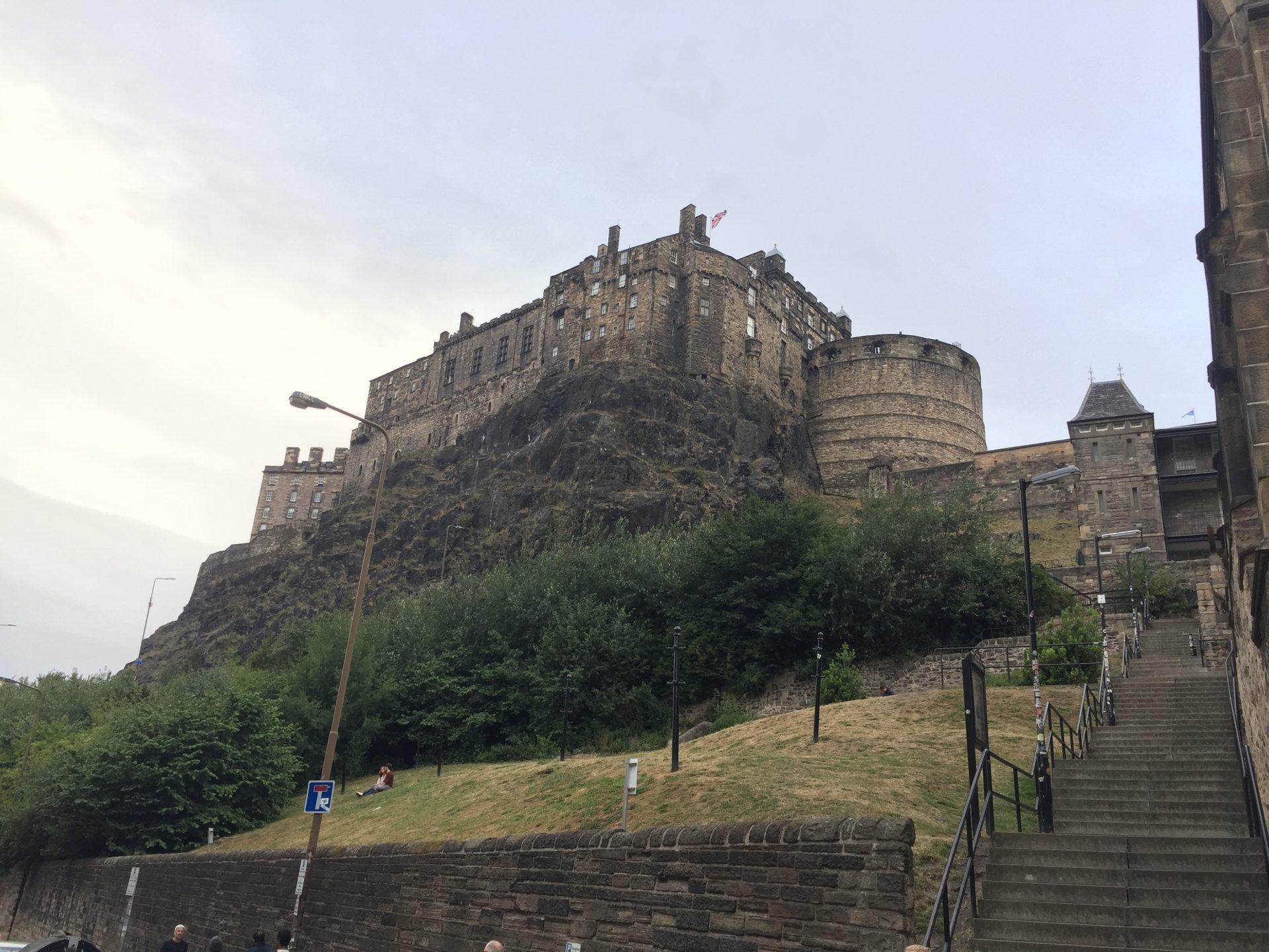 Edinburgh Castle – Das imposante Schloss in Schottlands Hauptstadt