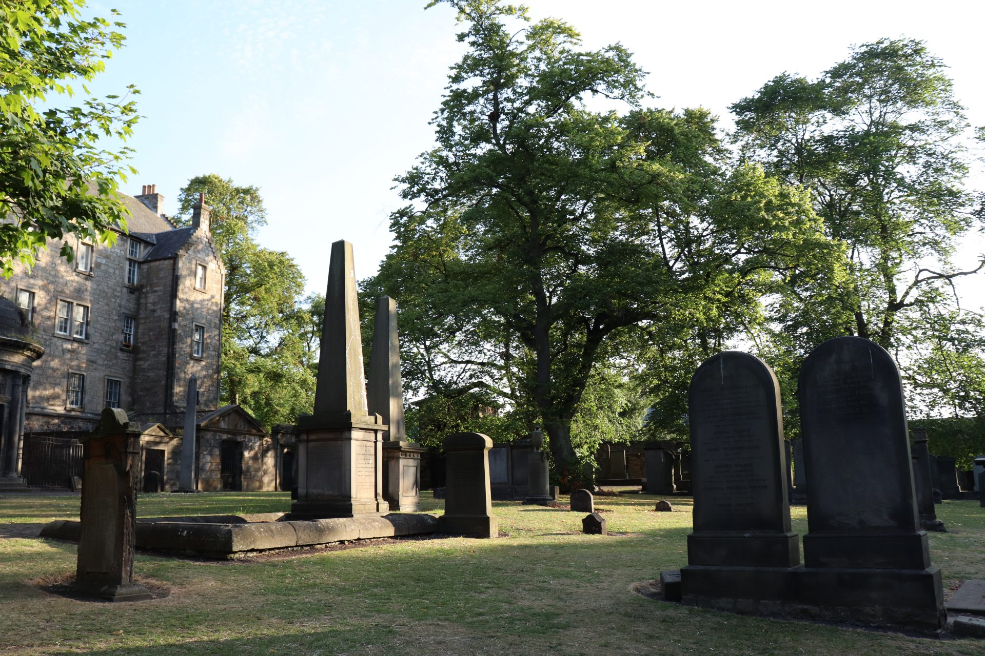 Greyfriars Cemetery – Hier findet der Besucher Ruhe und Stille