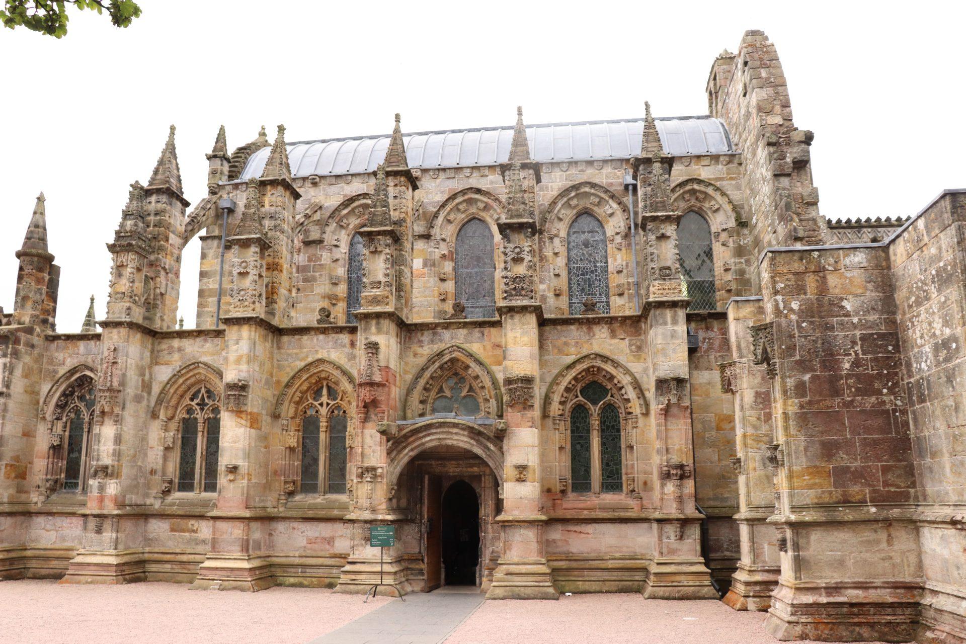 Rosslyn Chapel in der Nähe von Edinburgh